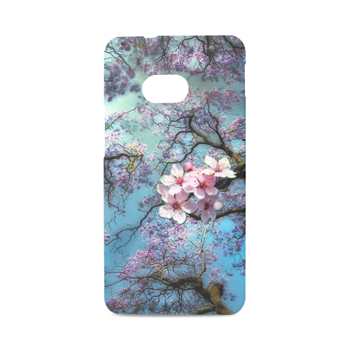 Cherry blossomL Hard Case for HTC ONE M7 3D