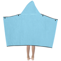 color baby blue Kids' Hooded Bath Towels