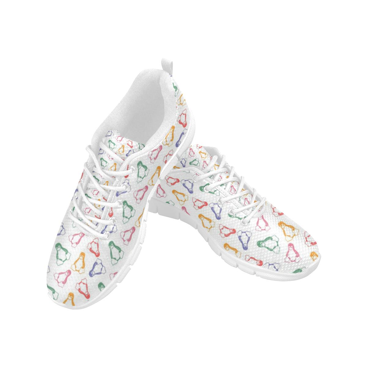 Penguin Love Women's Breathable Running Shoes (Model 055)