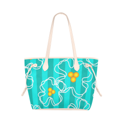Flowers Clover Canvas Tote Bag (Model 1661)