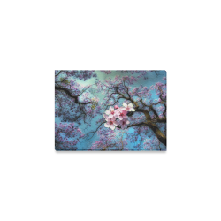 "Cherry blossomL Canvas Print 7""x5"""