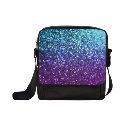 Mosaic Sparkley Texture G198 Crossbody Nylon Bags (Model 1633)