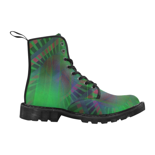 hiden Martin Boots for Men (Black) (Model 1203H)