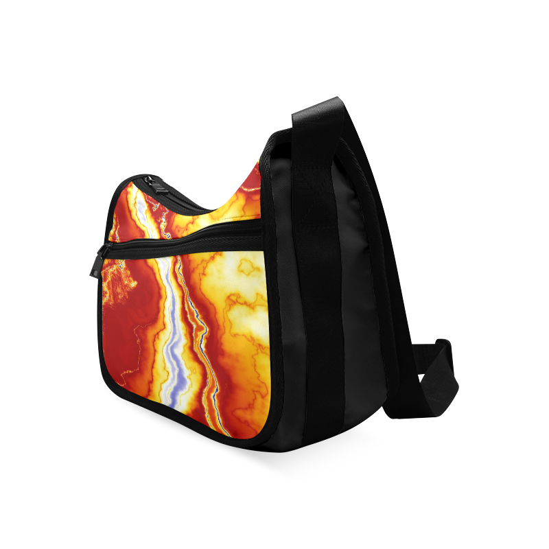 Marble Geode Crossbody Bags (Model 1616)