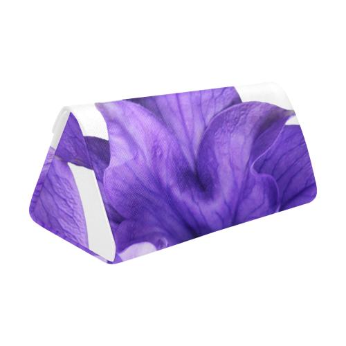 Balloon Flower Custom Foldable Glasses Case