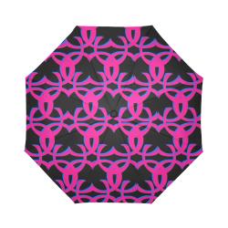 ccclogohotpinkcccbrella Auto-Foldable Umbrella (Model U04)