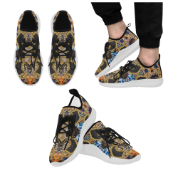 Luxury Abstract Design Dolphin Ultra Light Running Shoes for Men (Model 035)