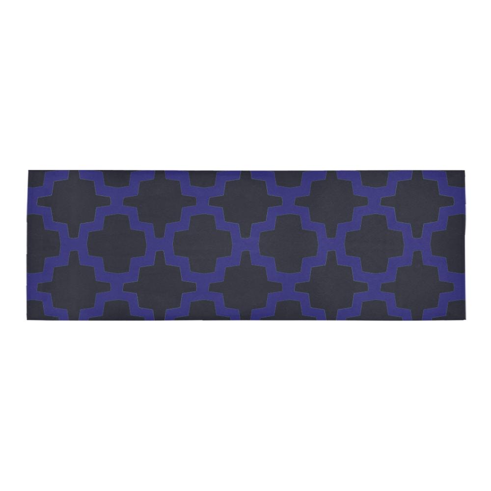 Geometric Tessellation Area Rug 10'x3'3''