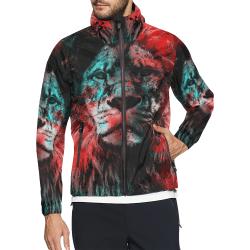 lion jbjart #lion Unisex All Over Print Windbreaker (Model H23)