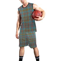 ANDERSON ANCIENT TARTAN All Over Print Basketball Uniform