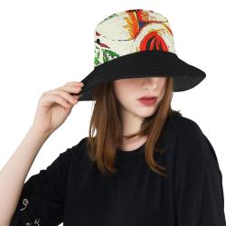 manusartgnd All Over Print Bucket Hat