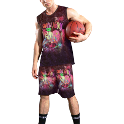 New York Popart by Nico Bielow All Over Print Basketball Uniform