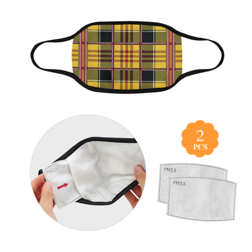 21tt Mouth Mask in One Piece (2 Filters Included) (Model M02) (Non-medical Products)