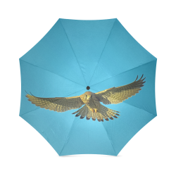 Falcon photo print Foldable Umbrella (Model U01)